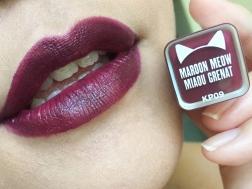 Katy Kat Matte Maroon Meow